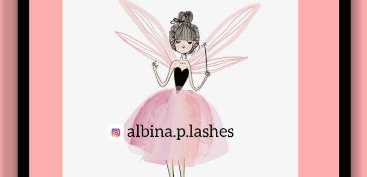 Albina albina.p.lashes