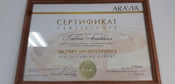 Анастасия Горбина